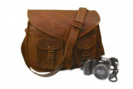 Retro Leather Laptop Macbook Messenger Office Briefcase Shoulder Woman Bag