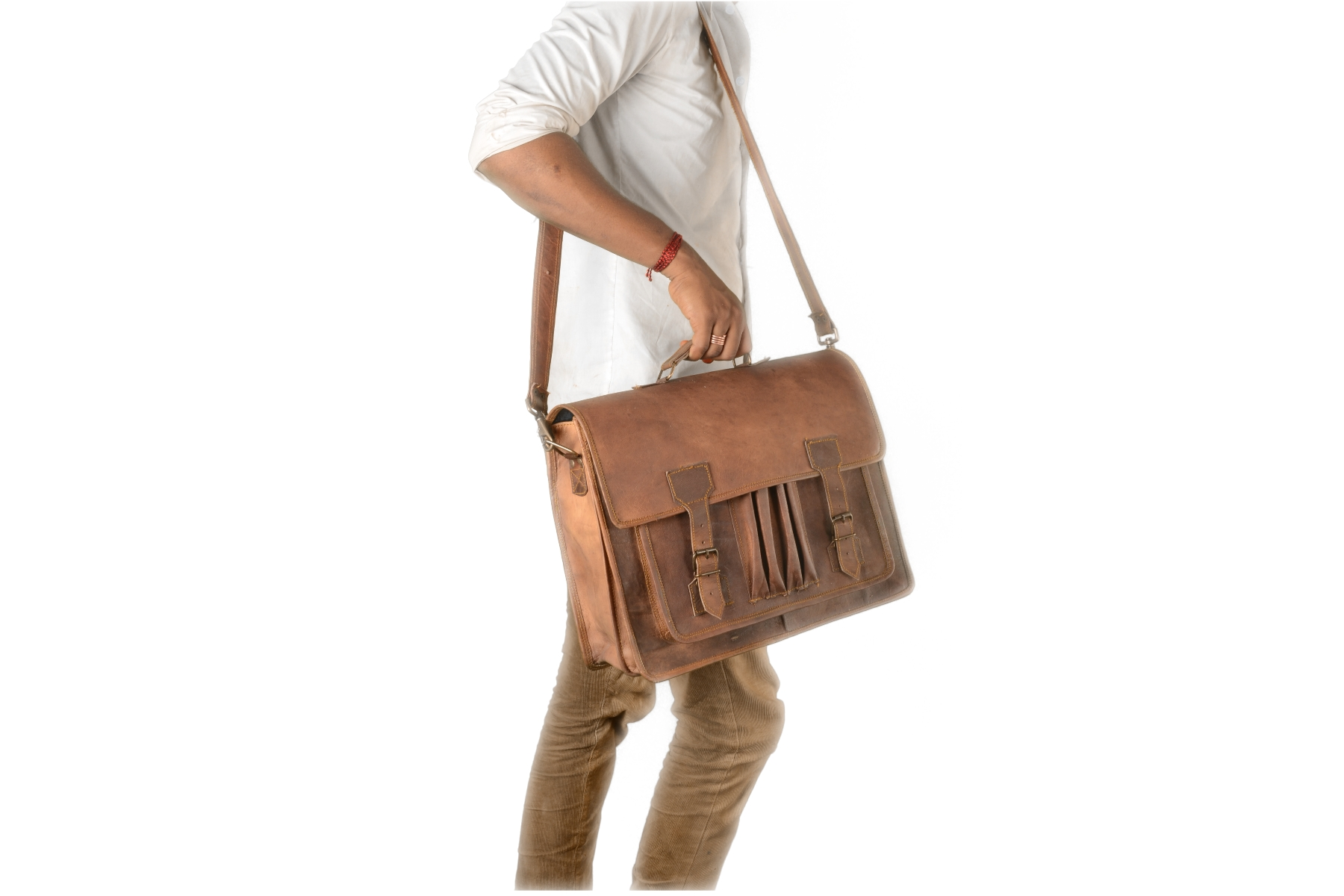 Ipad Tablet Bag Leather Satchel
